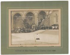 PHOTOGRAPHIE LOURDES 1908 BENEDICTION DU SAINT SACREMENT PHOTO F. VIRON - Luoghi