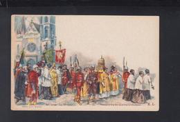 Hungary Stationery St. Stephen Procession Unused - Interi Postali