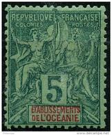 Oceanie (1892) N 4 * (charniere) - Oceania (1892-1958)