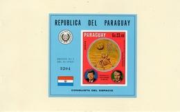 PARAGUAY / APOLLO 11 Espace 2 Blocs Dentelé Et ND Neuf MNH Cote 28.00 Vente 10.00 Euros