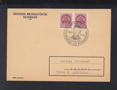 Hungary PC 1941 Special Cancellation Katona - Ungarn
