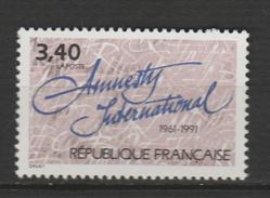 "FRANCE ,N°2728 "" ANNIV D'AMNESTY INTERNATIONAL"""