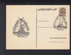 Hungary PC 1942 Special Cancellation Kiallitas - Ungarn