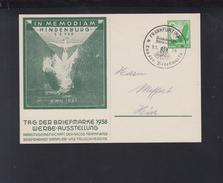Dt. Reich Bild-PK 1938 In Memoriam Hindenburg - Deutschland