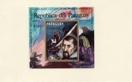 PARAGUAY / APOLLO 14  Espace 1 Bloc Dentelé Neuf MNH Cote 16.00 Vente 5.00 Euros