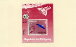 PARAGUAY / 40 ANS V2  Espace 1 Bloc Dentelé Neuf MNH Cote 25.00 Vente 8.00 Euros