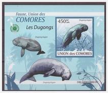 037 Comores 2009 Zeekoeien Lamentijn Seacow S/S MNH Imperf