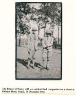 RARE PRIVATE PHOTO PRINCE OF WALES KING EDWARD VIII TOUR 1921 DUKE WINDSOR (9) - Other Collections