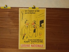 AFFICHE LOTERIE NATIONALE. FEVRIER-MARS 1966. R. GUERINI. - Posters