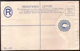 """CYPRUS GEORGE V """"SPECIMEN"""" REGISTERED ENVELOPE H&G 11b - Cyprus (...-1960)"""