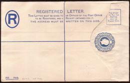 """CYPRUS GEORGE V """"SPECIMEN"""" REGISTERED ENVELOPE H&G 10b - Cyprus (...-1960)"""