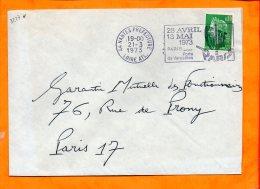 LOIRE-ATL., Nantes, Flamme SCOTEM N° 3277o, Foire De Paris, 28 Avril - 13 Mai 1973 - Postmark Collection (Covers)