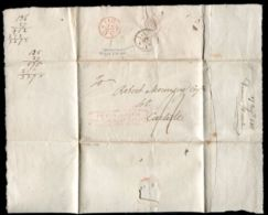 GB LONDON TO CARLISLE ENTIRE LETTER 1811 - Postmark Collection
