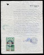 BRITISH FISCALS CONSULAR SERVICE KING GEORGE 5TH CADIZ AND AMSTERDAM - Great Britain