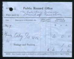 GB KG6 REVENUES PUBLIC RECORDS OFFICE - 1902-1951 (Kings)