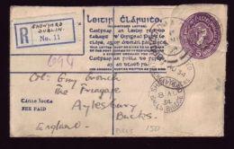 "IRELAND 1934 ""SHOWYARD DUBLIN COVER"" - Ireland"