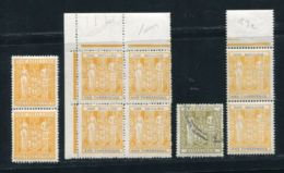 NEW ZEALAND POSTAL FISCAL 1940-58 UNMOUNTED MINT - New Zealand
