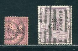 GB SCOTLAND QUEEN VICTORIA HIGH VALUE PERFINS - 1840-1901 (Victoria)