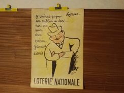 AFFICHE LOTERIE NATIONALE. AVRIL 1963.  R. GUERINI. - Posters