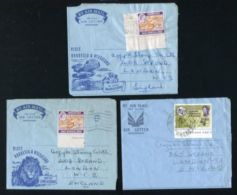 RHODESIA AIRLETTERS 1962/1965 - Grande-Bretagne (ex-colonies & Protectorats)