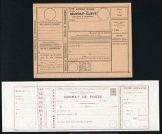 FRANCE POSTAL STATIONERY TELEGRAM TELEPHONE 1920s - Europe (Other)