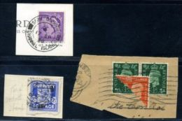 GUERNSEY WW11 - NICE LOT - Regional Issues