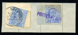 GB IRELAND MARITIME QUEENSTOWN KEV11, POSTED AT SEA - 1902-1951 (Kings)