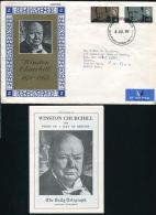 1965 GB CHURCHILL DAILY TELEGRAPH OFFICIAL FDC - Unclassified