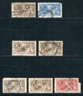 G.B. - KGV 1915-19 SEA HORSES - 1902-1951 (Kings)
