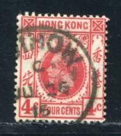 BRITISH CHINA HANKOW ON HOIHOW ON HONG KONG KG5 - Hong Kong (...-1997)