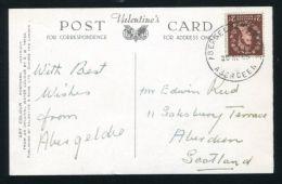 GB SCOTLAND ABERGELDIE CASTLE SKELETON QUEEN ELIZABETH THE QUEEN MOTHER - 1952-.... (Elizabeth II)