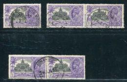 INDIA SILVER JUBILEE KG5 INCLUDING BURMA - India (...-1947)