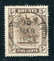 BRUNEI FINE BELAIT POSTMARK - Brunei (...-1984)