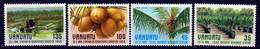 Vanuatu MNH 1987 Cocos Palm Set