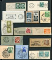 WINTER SPORTS SKIING AMAZING POSTMARK LOT! - Olympic Games