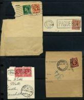 GB PAQUEBOT KE7 ,KG5, KE8 BRISTOL, DENMARK, EGYPT, US. - 1902-1951 (Kings)