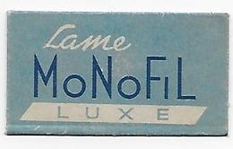 LAMETTA DA BARBA - LAME MONOFIL LUXE - Lamette Da Barba