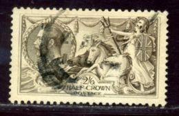 GB KGV 1918-19 Bradbury, Wilkinson 2s 6d Dark Brown - 1902-1951 (Kings)
