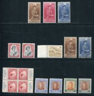 NEW ZEALAND 1935-60 LIGHTLY HINGED FINE MINT SELECTION - New Zealand