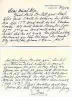 RARE CARD TO GRAND DUCHESS OLGA ROMANOV FROM IVAR EMIL VIND 1959 VON ROSENBORG - Other Collections
