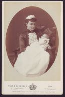 FINE CABINET BY HILLS & SAUNDERS PRINCESS LOUISE MARGARET DUCHESS CONNAUGHT - Photographs
