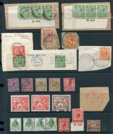 GB KING GEORGE 5TH POSTMARKS MARITIME BLOCKS - 1902-1951 (Kings)
