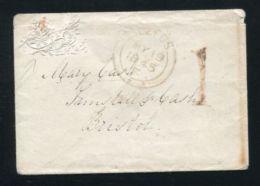 GB QUEEN VICTORIA STATIONERY LEEDS 1845 - 1840-1901 (Victoria)