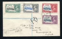 GRENADA SILVER JUBILEE REGISTERED GEORGE FIFTH - Grenada (...-1974)