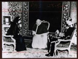 HM QUEEN ELIZABETH AND POPE JOHN XX111 VATICAN 1961 - Famous People