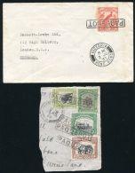 HONG KONG PAQUEBOT MARITIME NEW GUINEA NORTH BORNEA 1933/1937 - Hong Kong (...-1997)