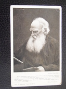 Russia 124 Lev Leo Tolstoy Tolstoi Tolstoj 1910 Foto Certkova Serie IV No 12 - Russia