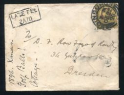 GB SCOTLAND QUEEN VICTORIA JUBILEE LATE FEE PAID 1896 - 1840-1901 (Victoria)