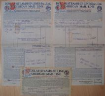 HONG KONG REVENUE DOCUMENTS MARITIME GEORGE V DOLLAR STEAMSHIP 1930 - Hong Kong (...-1997)