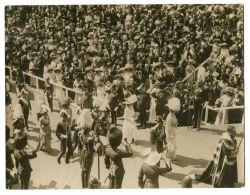 FINE ORIGINAL PHOTO INVESTITURE PRINCE EDWARD WALES 1911 CAERNARVON CASTLE - Other Collections